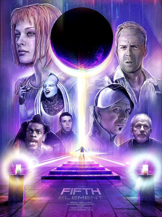 movie poster fifth element