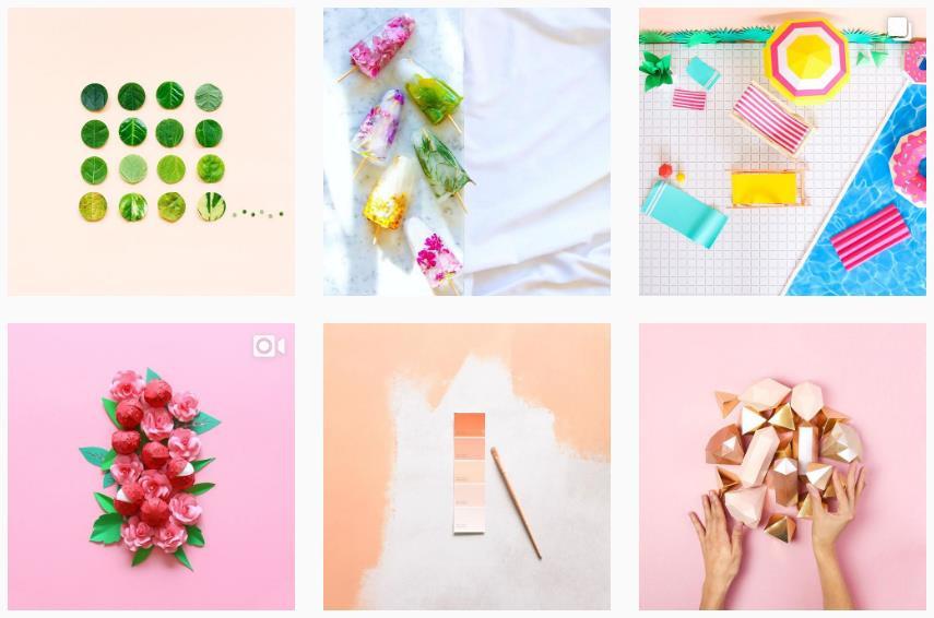 aurelycerise colorful instagram pictures