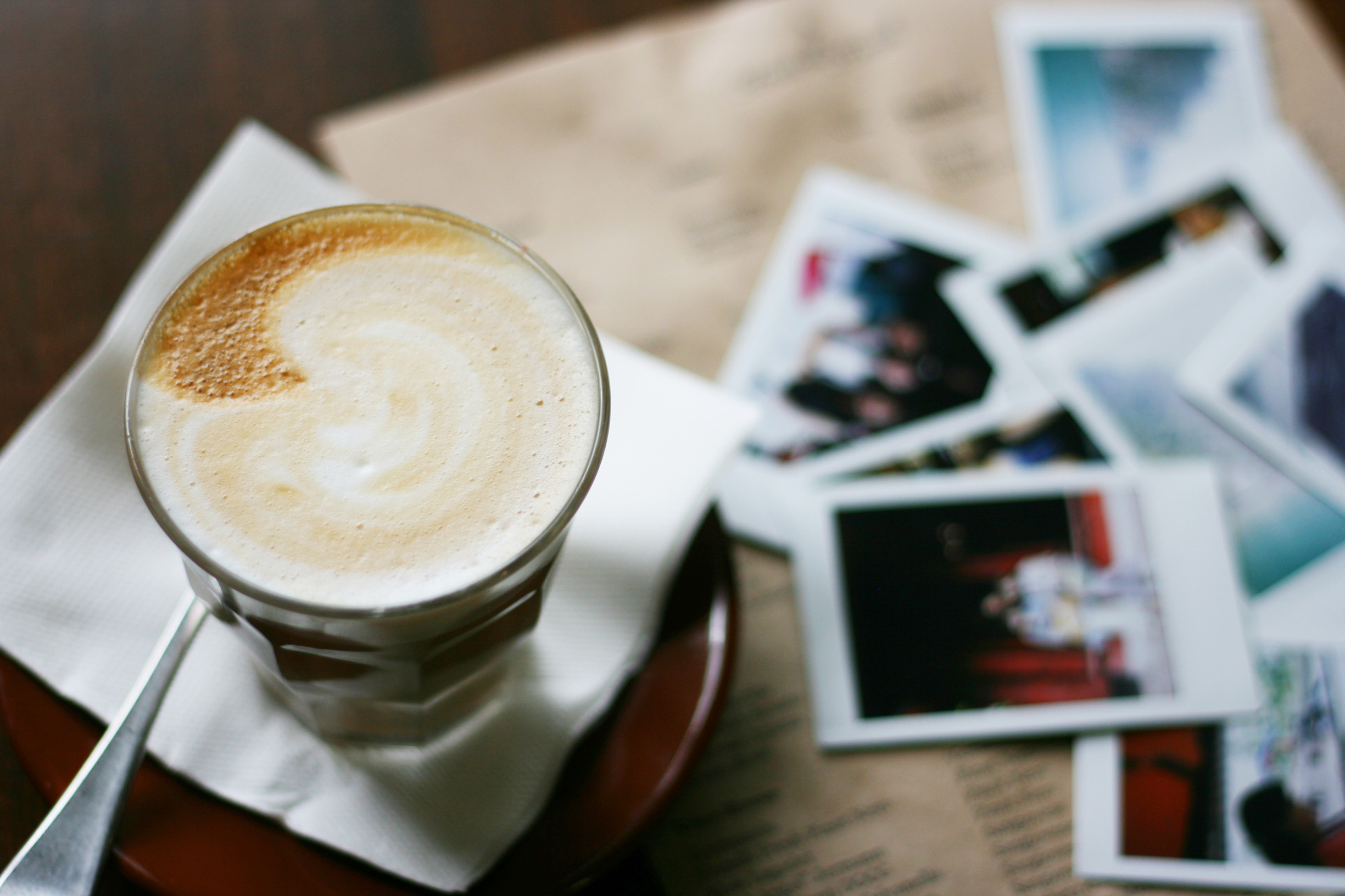 photo journal photos with coffee